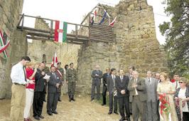 Kamieniec-i várban Balassira emlékeztek.