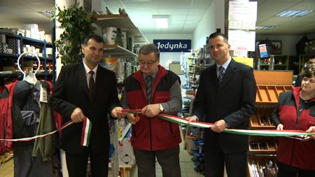 Átadták a Zalaiparker felújított üzletét